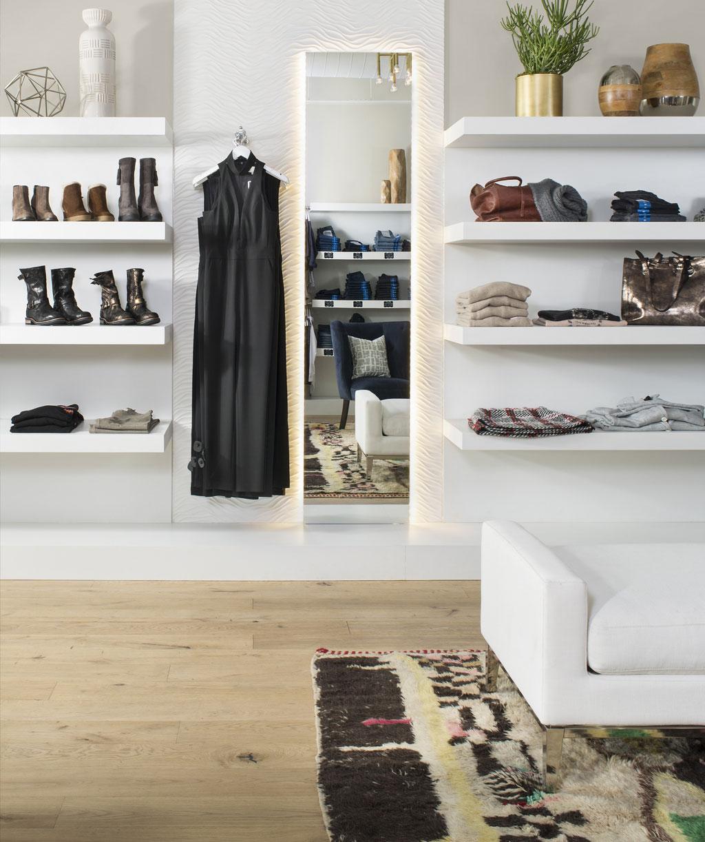 Upscale Retail, Perch Denver - AJP Realty & Design